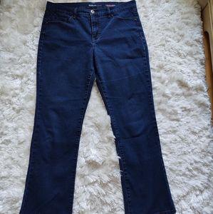 Style & Co bootleg jeans sz 12S